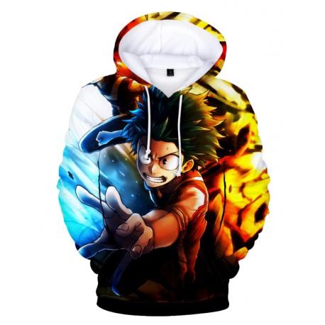my hero academia sweatshirt