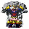 T Shirt All Might