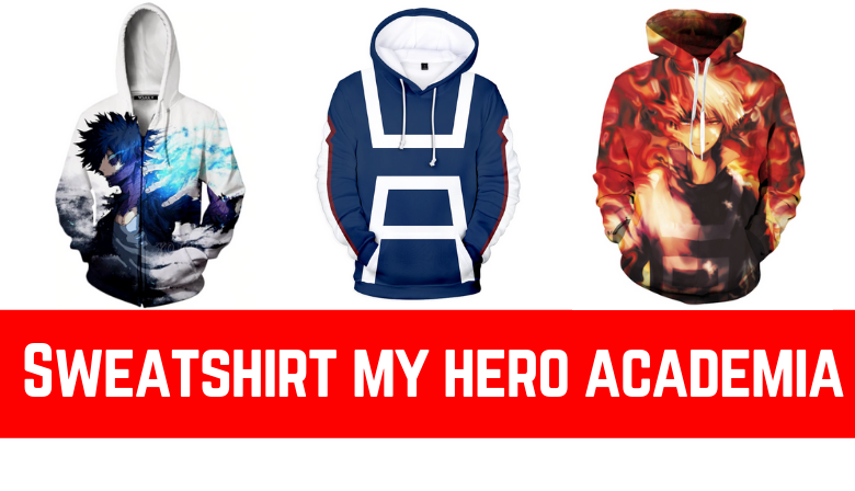 Sweatshirt my hero academia