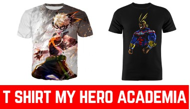 T shirt my hero academia